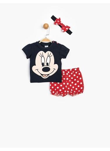 Minnie Mouse 2 li Takım Lacivert